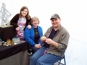 David Vollmer and family of Sugar Land, Texas