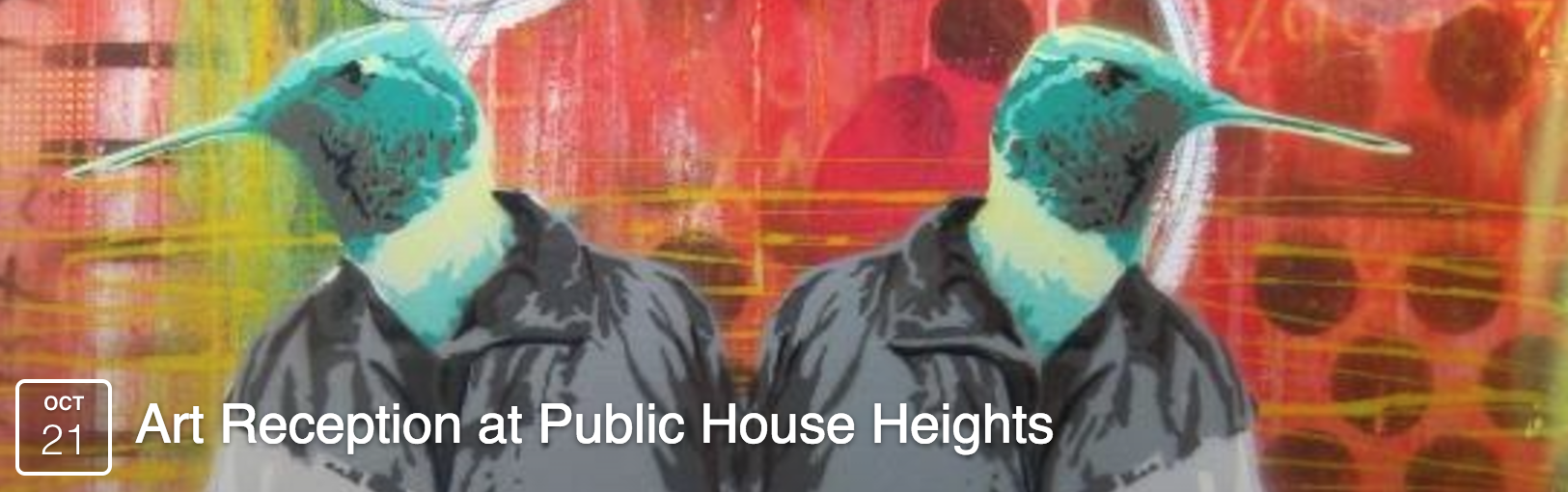 Art Reception at Public House Heights