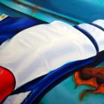 Flag No 2 by Jennifer Lang