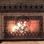 Texas Star Fire Place Screen