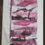 Upside of Down Printmaking by Jackie McClure