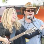 Mitch sings with Wendy Elizabeth Jones