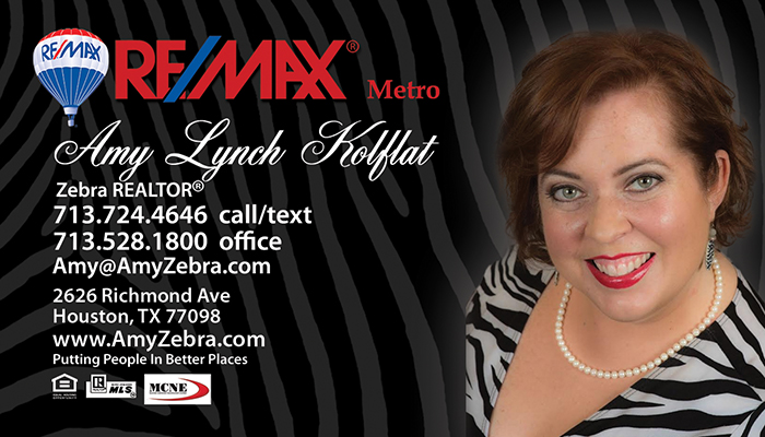 Amy Lynch Kolflat Zebra Realtor