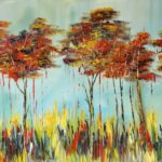 Abstract Forest by Aliona Price