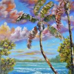 Beach_Palms by Aliona Price