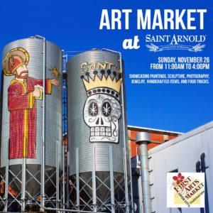 Sunday Art Market at Saint Arnold